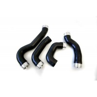 Agency Power Silicone Boost Hose Kit Silver 01-05 Porsche 996TT